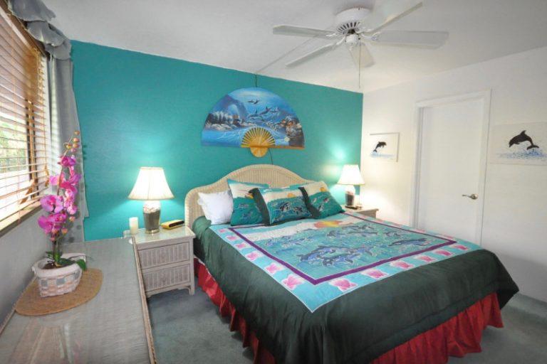 Vacation Rental Master Bedroom