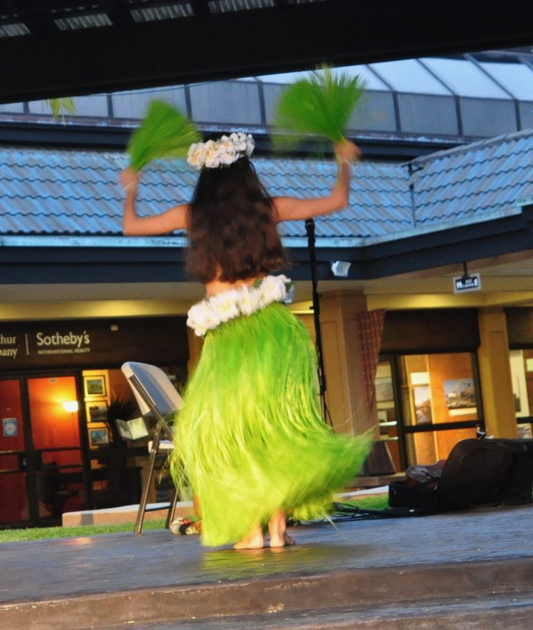 Free Hula Show at Keauhou