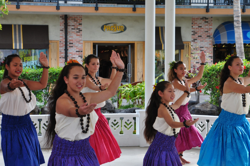 Hula at Queens Shops